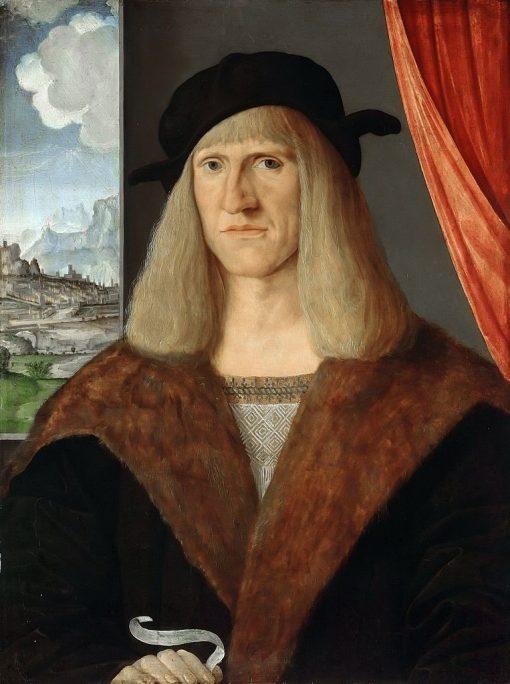 Portrait of a Gentleman | Jacopo de' Barbari | Oil Painting