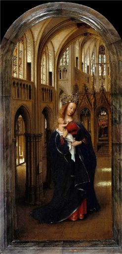 Madonna in the Church | Jan van Eyck | Oil Painting