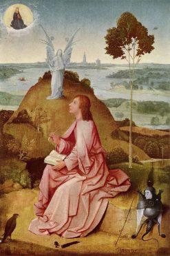 Saint John the Evangelist on Patmos | Jheronimus Bosch | Oil Painting