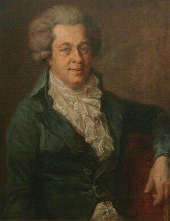 Edlinger Mozart | Johann Georg Edlinger | Oil Painting