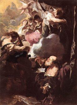 The Ecstasy of Saint Paul | Johann Liss | Oil Painting