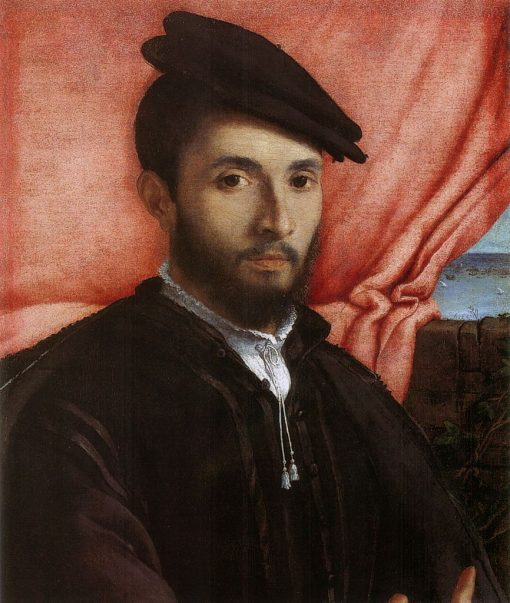 Portrait of a Young Man | Lorenzo Lotto | Oil Painting