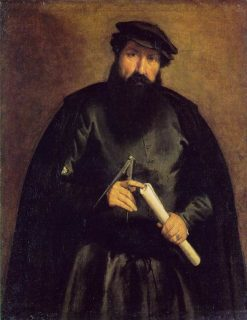 The Architect | Lorenzo Lotto | Oil Painting