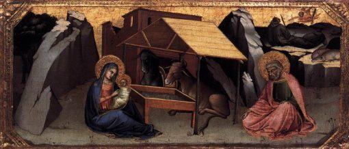 The Nativity   Lorenzo Monaco   Oil Painting