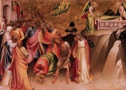 The Beheading of Saint Catherine of Alexandria | Lorenzo Monaco | Oil Painting