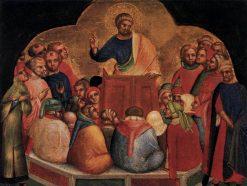 The Apostle Preaching Paul (Predella of Altarpiece) | Lorenzo Veneziano | Oil Painting