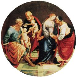 The Holy Family with Zacharias