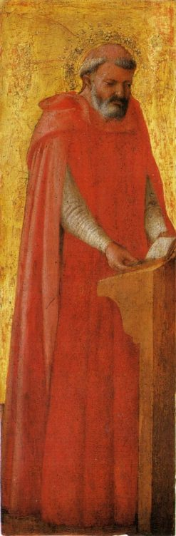 Saint Gerolamo (from the Pisa Altarpiece) | Masaccio | Oil Painting