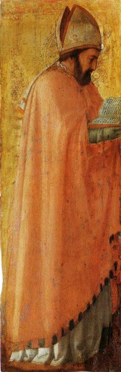 Saint Augustus (from the Pisa Altarpiece)   Masaccio   Oil Painting