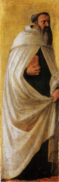 Saint Carmelitano Barbuto (from the Pisa Altarpiece) | Masaccio | Oil Painting