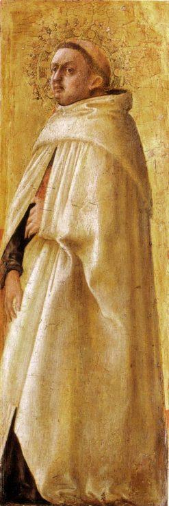 Saint Carmelitano Imberbe (from the Pisa Altarpiece) | Masaccio | Oil Painting