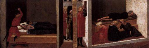 Predella Panel from the Pisa Altarpiece | Masaccio | Oil Painting