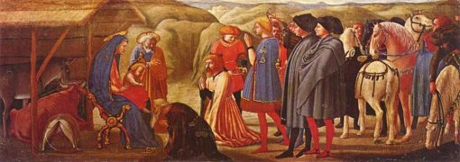 Adoration of the Magi (from the Pisa Altarpiece) | Masaccio | Oil Painting