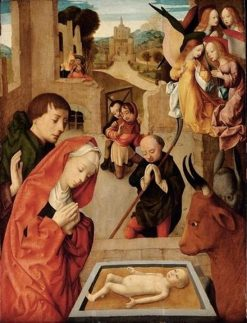 Adoration of the Magi | Master of the Virgo inter Virgines | Oil Painting