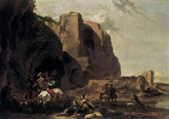 Return from the Falcon Hunt | Nicolaes Berchem | Oil Painting