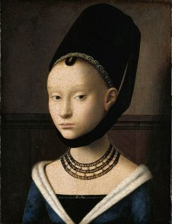 Portrait of a Young Woman | Petrus Christus | Oil Painting