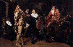 The Actors' Changing Room | Pieter Codde | Oil Painting