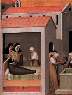 The Miracle of the Ice | Pietro Lorenzetti | Oil Painting