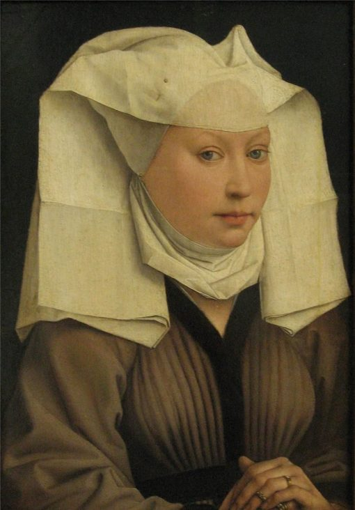 Portrait of a Lady with a White Headress | Rogier van der Weyden | Oil Painting