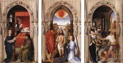 Saint John Altarpiece (Reredos) | Rogier van der Weyden | Oil Painting