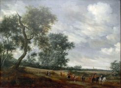 Dutch Landscape | Salomonsz. van Ruysdael | Oil Painting