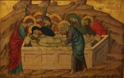 The Entombment of Christ | Ugolino di Nerio | Oil Painting