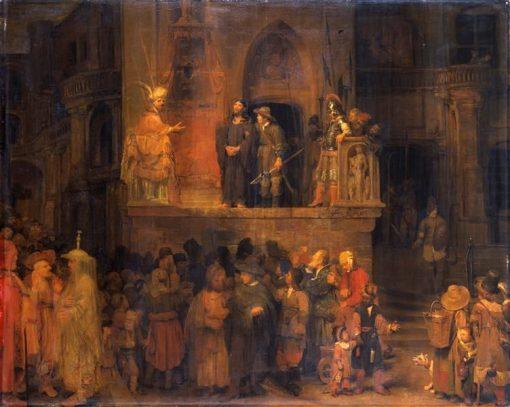 Ecce Homo   Aert de Gelder   Oil Painting