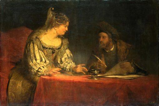 Esther and Mardochai | Aert de Gelder | Oil Painting
