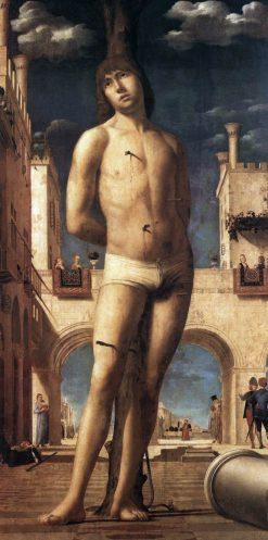 Saint Sebastian | Antonello da Messina | Oil Painting
