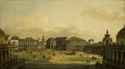 The Zwinger in Dresden | Bernardo Bellotto | Oil Painting