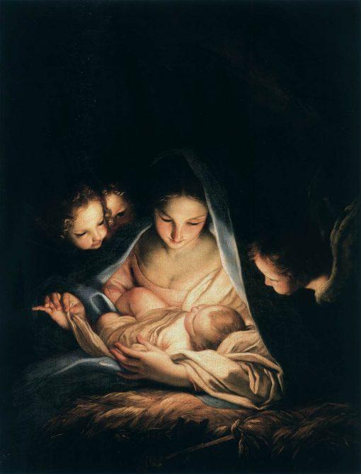 The Holy Night (The Nativity) | Carlo Maratta | Oil Painting