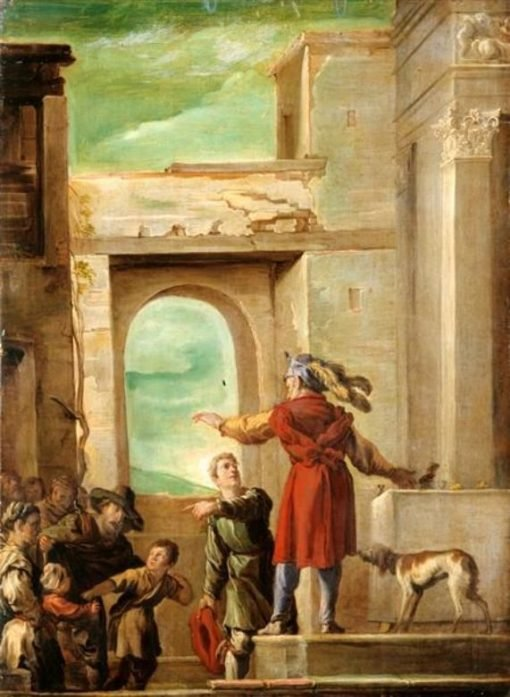 The Parable of the Feast without Guests | Domenico Fetti | Oil Painting