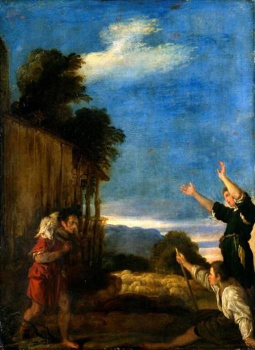 The Parable of the Lost Sheep   Domenico Fetti   Oil Painting