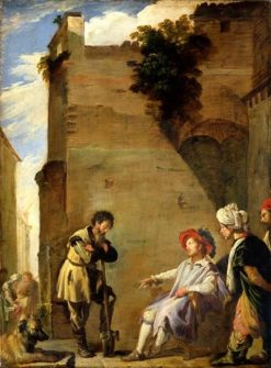 The Parable of the Labourers in the Vineyard | Domenico Fetti | Oil Painting