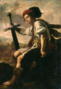 David with the Head of Goliath | Domenico Fetti | Oil Painting