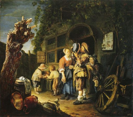 A Tinker | Frans van Mieris the Elder | Oil Painting