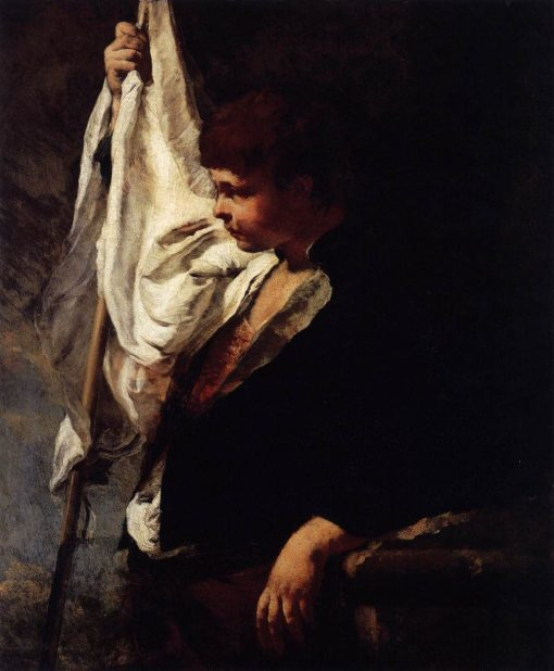 A Young Ensign | Giovanni Battista Piazzetta | Oil Painting