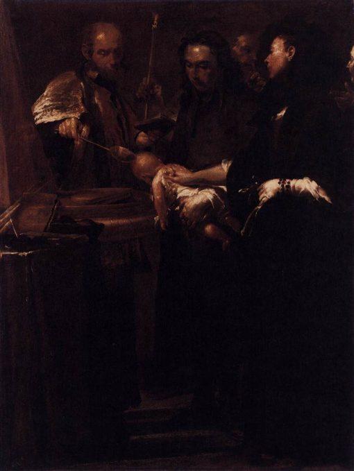 The Seven Sacraments: Baptism | Giuseppe Maria Crespi | Oil Painting