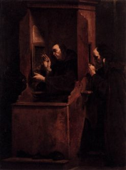 The Seven Sacraments: Confession | Giuseppe Maria Crespi | Oil Painting