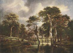 The Hunt | Jacob van Ruisdael | Oil Painting
