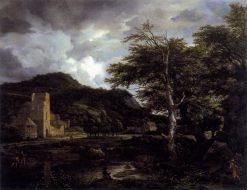 The Cloister | Jacob van Ruisdael | Oil Painting