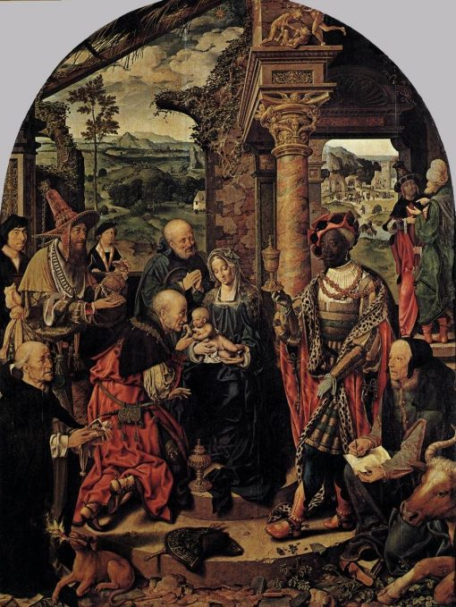Adoration of the Magi | Joos van Cleve | Oil Painting