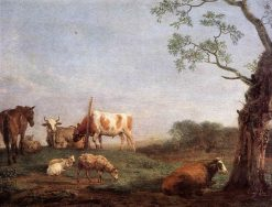 Resting Herd | Paulus Potter | Oil Painting