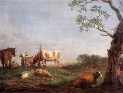 Resting Herd | Paulus Potter | Oil Painting