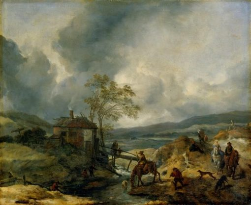 The House of the Executioner | Philips Wouwerman | Oil Painting