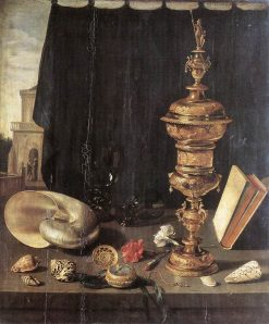Still Life with Large Goblet | Pieter Claesz | Oil Painting
