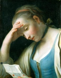 Lady Reading a Letter | Pietro Antonio Rotari | Oil Painting