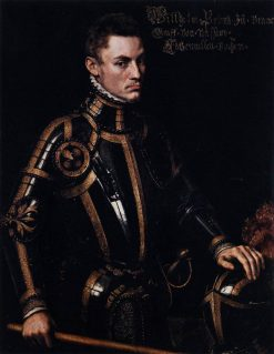Portrait of William of Orange | Anthonis Mor | Oil Painting