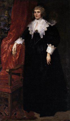 Portrait of Anna van Craesbecke | Anthony van Dyck | Oil Painting