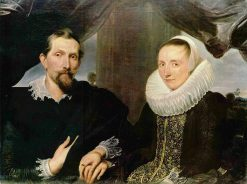 Portrait of Frans Snyders and His Wife | Anthony van Dyck | Oil Painting